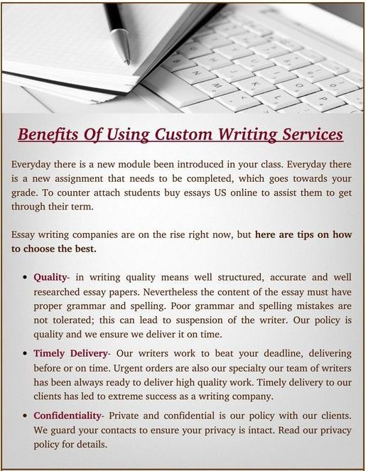 Custom Essay Writing save a lot of time
