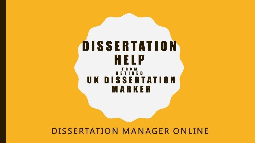 Help with dissertation writing where i'